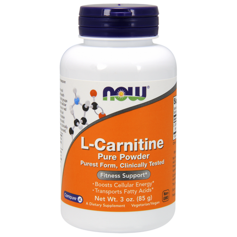 NOW L-Carnitine Pure Powder