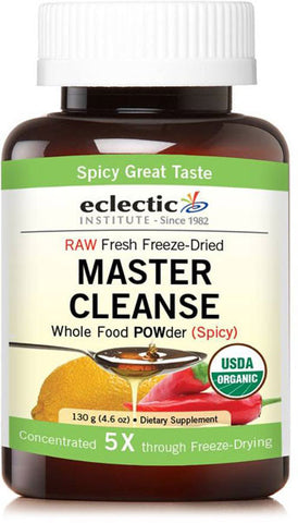 Eclectic Institute Master Cleanse Whole Food POWder (Spicy)