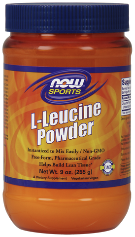 NOW Sports L-Leucine Powder