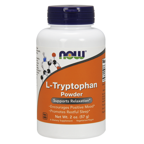NOW L-Tryptophan Powder