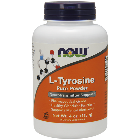 NOW L-Tyrosine Powder