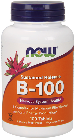 NOW Vitamin B-100 Sustained Release