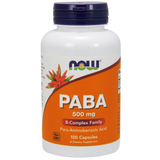 NOW PABA 500 mg