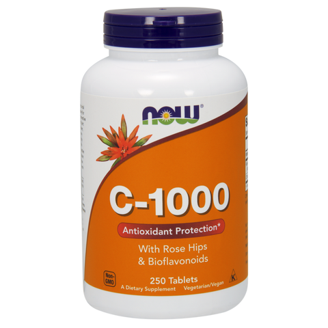NOW Vitamin C-1000 with Rose Hips