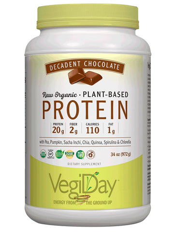 Natural Factors VegiDay Raw Organic Plant-Based Protein