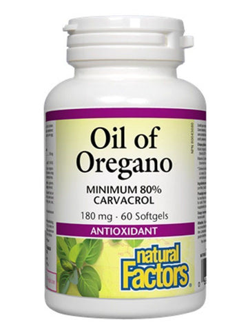 Natural Factors Oil of Oregano