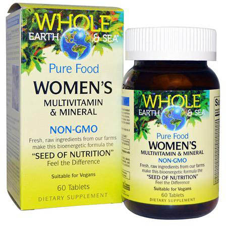 Natural Factors Whole Earth & Sea Women's Multivitamin & Mineral