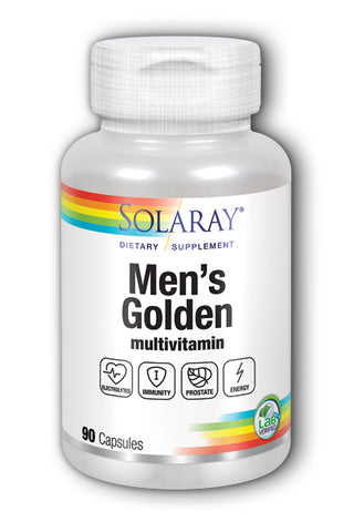 Solaray Men's Golden Multi-Vita-Min