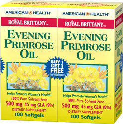 American Health Royal Brittany Evening Primrose Oil Twinpack