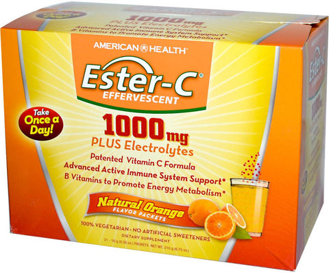 American Health Ester- C Effervescent - Natural Orange