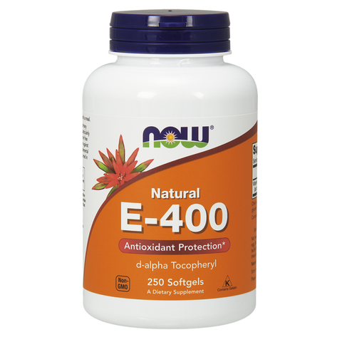 NOW Vitamin E-400 (Natural d-Alpha)