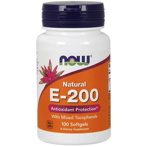 NOW Vitamin E-200 (Mixed Tocopherols)