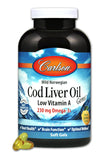 Carlson Cod Liver Oil (Low Vitamin A)