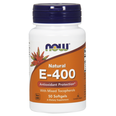 NOW Vitamin E-400 (Mixed Tocopherols)