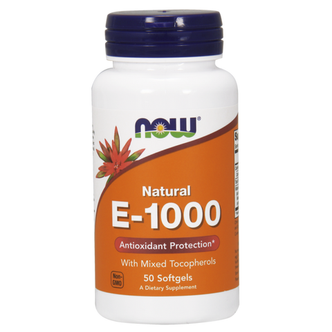 NOW Vitamin E-1000 (Mixed Tocopherols)