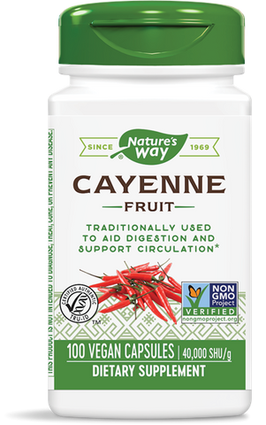 Natures Way Cayenne Fruit