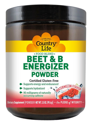 Country Life Beet & B Energizer Powder
