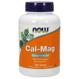 NOW Cal-Mag Stress Formula Tablets