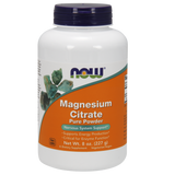 NOW Magnesium Citrate Pure Powder