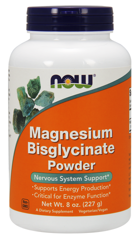 NOW Magnesium Bisglycinate Powder