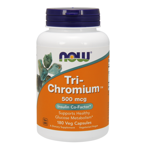 NOW Tri-Chromium with Cinnamon