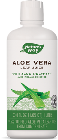 Natures Way Aloe Vera Whole Leaf Juice