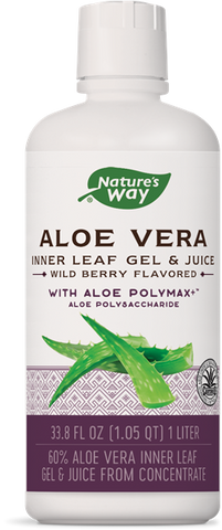 Nature's Way Aloe Vera Gel & Juice - Wild Berry