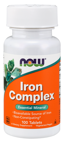 NOW Iron Complex (Vegetarian)