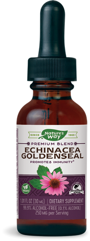 Natures Way Echinacea Goldenseal (Alcohol-Free Liquid)