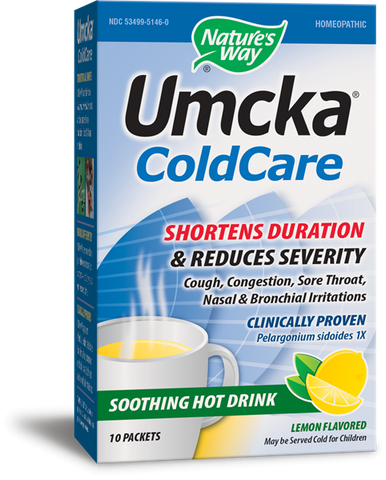 Nature's Way Umcka ColdCare Soothing Hot Drink - Lemon