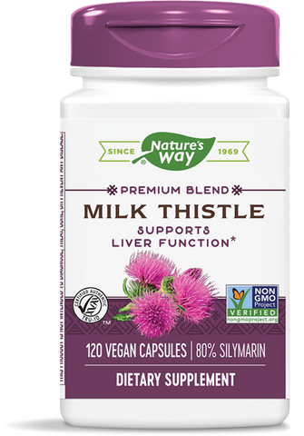 Natures Way Milk Thistle Extract (Standardized)