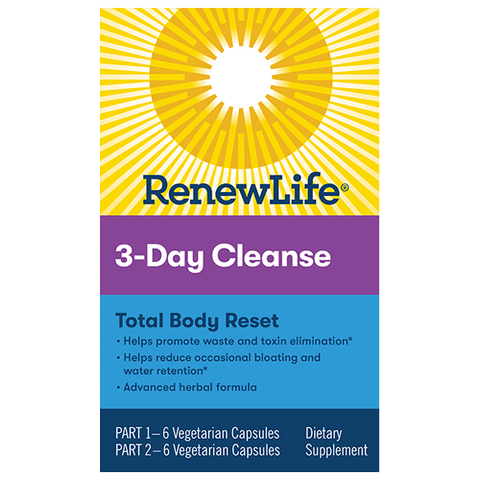 RenewLife 3-Day Cleanse Total Body Reset