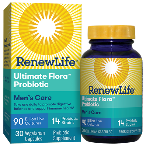 RenewLife Ultimate Flora Mens Care Probiotic 90 Billion