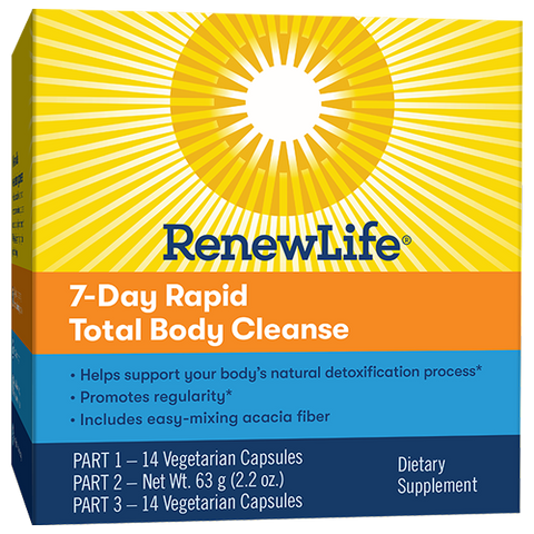 RenewLife 7-Day Rapid Total Body Cleanse