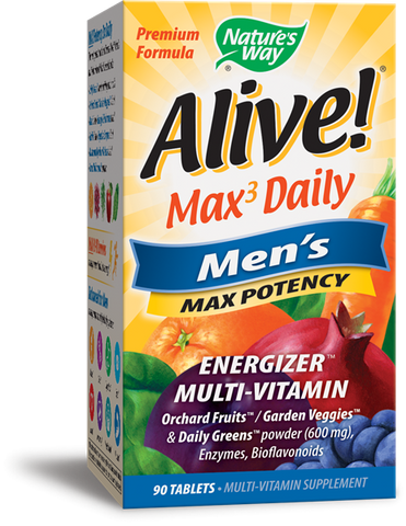Nature's Way Alive! Whole Food Energizer Men's Multi Vitamin & Mineral