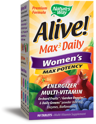 Nature's Way Alive! Whole Food Energizer Women's Multi Vitamin & Mineral