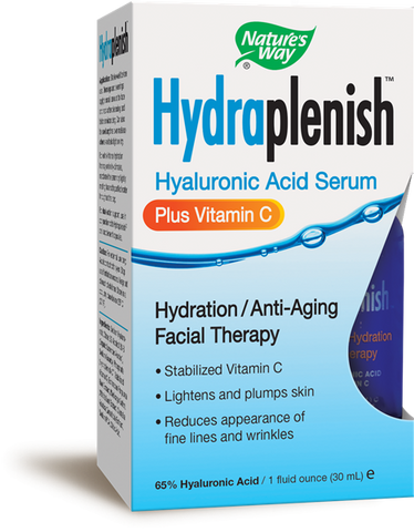 Natures Way Hydraplenish Hyaluronic Acid Serum Plus Vitamin C