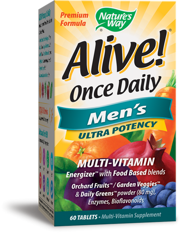 Nature's Way Alive! Once Daily Men's Multi-Vitamin Ultra Potency