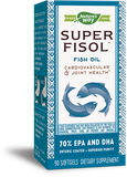 Nature's Way Super Fisol (Enteric-Coated Fish Oil)