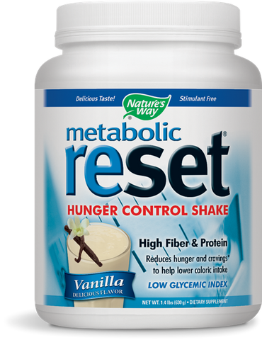 Nature's Way Metabolic ReSet Weight Loss Shake Mix - Vanilla