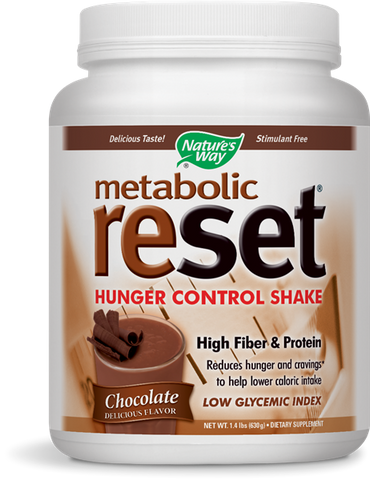 Nature's Way Metabolic ReSet Weight Loss Shake Mix - Chocolate
