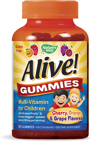 Nature's Way Alive! Multi-Vitamin Children's Gummies
