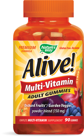 Nature's Way Alive! Multi-Vitamin Adult Gummies