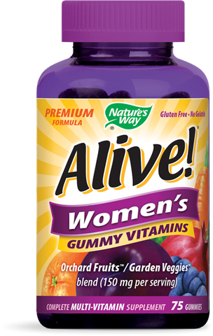 Natures Way Alive! Womens Gummy Vitamins
