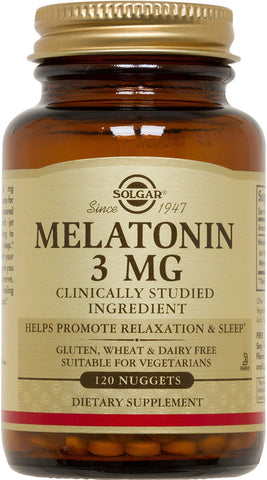 Solgar Melatonin Nuggets 3 mg