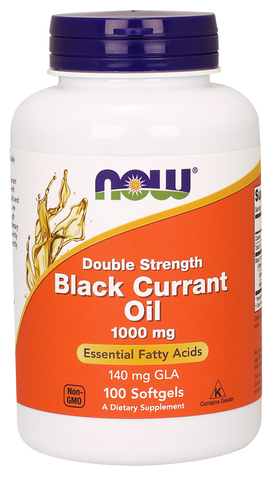 NOW Black Currant Oil 1000 mg Double Strength