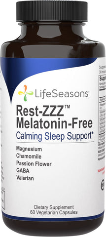 LifeSeasons Rest-ZZZ Melatonin-Free