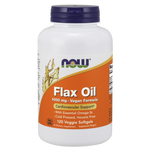 NOW Flax Oil 1000 mg Vegan Formula