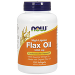 NOW High Lignan Flax Oil 1000 mg