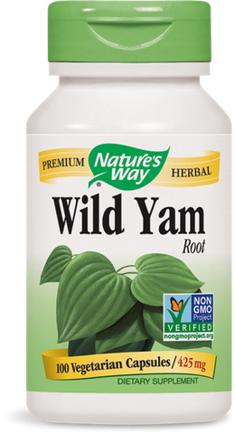 Nature's Way Wild Yam Root
